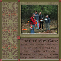 THE CHAINSAW GANG
