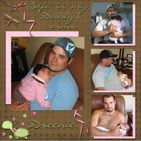 SAFE IN MY DADDY'S ARMS