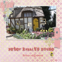 Peter Rabbit's House-Saturday Color