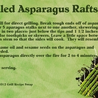Jenrou_Grilled Asparagus_Rafts-July Swap 2012
