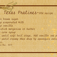 Jenrou Pralines Old recipe