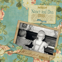 Duet: Nancy and Dan, 1955