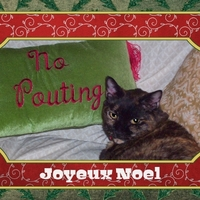 Holiday Card - No Pouting 1