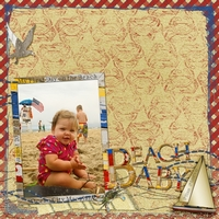 Saturday Color Challenge_8/18_Beach Baby