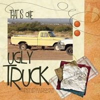 1 Ugly Truck -Ro's Newsletter Challenges