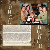 01 23 2010 Lunch Bunch Project SG