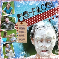 Speed Scrap 6-30-11 - PIe-face