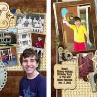 Ryan's 15th BD Party Invitation and Post-Party LO