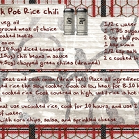 Jan: Crock Pot Rice Chili