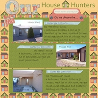 Our House Hunters: Which one did we pick