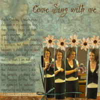 Sep Challenge: Come Sing With Me
