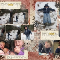 Dec: Snow Day (double page)