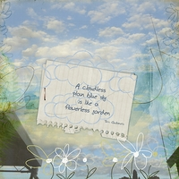 20mar12 Freebie Challenge - Blue Skies