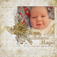Layout from Creative Team Christmas Favourites (blog post)