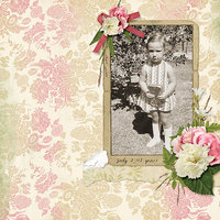 layout for Ginny's Tiny Moments Collection Super Mini