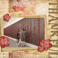 Layout for Cindy's new Feeling Thankful collection