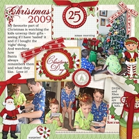 Layout for Ginny's North Pole Friends PL cards