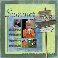 Summer in a Small Town-Mon 7/16 Cherished
