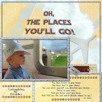 Oh, the Places You'll Go-Mon 3/4