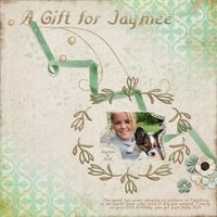 Tuesday Freebie Challenge-A Gift for Jaymee