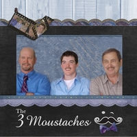 Movember 2012-The 3 Moustaches
