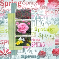 Thursday Challenge Quick Page Spring