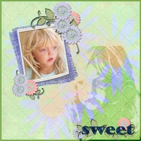 Blue and Green-Sweet