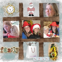 Scrap Simple Dec - Family