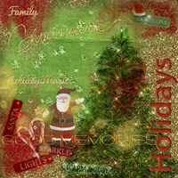 "December 2013 Art Journaling Chat - ""Holidays"""