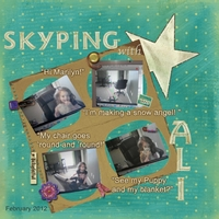 Tuesday Freebie Challenge 2/21: Skyping with Ali