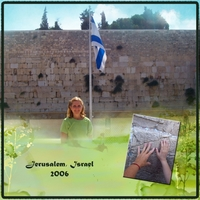 "Monday Challenge 7-22-13 ""Favorite Vacation - Jerusalem"""