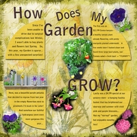 Thursday Challenge: How Does My Garden Grow