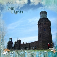 "Monday Challenge 7-8-13 ""Twin Lights"""