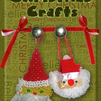 "March 2013 ATC - Crafts: ""Christmas Crafts"""