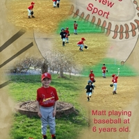 April ATC - New Sport (& Mischief Week Color Challenge)