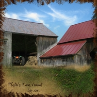 "Saturday Color Challenge 8/3/13 -- ""Pfister's Farm"""