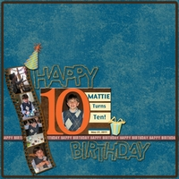 Mattie Turns 10!
