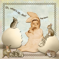 "Saturday Color Challenge 3/30/13 - ""Baby Bunny"""