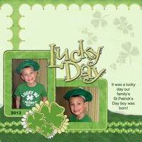Saturday Color Challenge:  3/16/13  Lucky Day