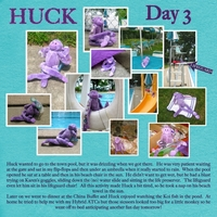 Huckleberry: Day 3