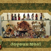 Holiday Card Chat:  My Tiny Nativity Collection