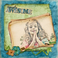 """Re-JUNE-venate: Layout 2 - """"Awesome Ali"""""""