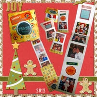 "Jumpstart January  2013 LO #3 ""Matchbook Album Craft"""
