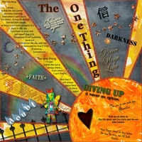 "September 2013 Art Journaling Chat: ""The One Thing..."""