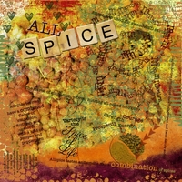 "Anniversary Week 2013 ""All About Me"" Art Journaling Chat:  ""Allspice"""