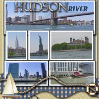 April swap for Carol Hudson River