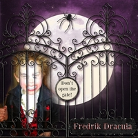 October costume Fredrik Dracula