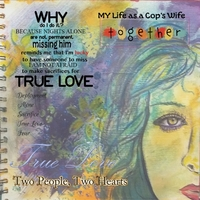Art Journaling Thursday Challenge 5 - Cop's Wife