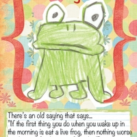 Eat That Frog!  Think Positive