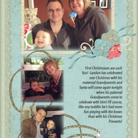 Landon's First Christmas